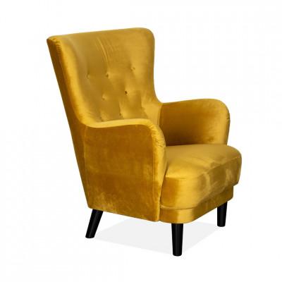 Krėslas Classic Geltonas