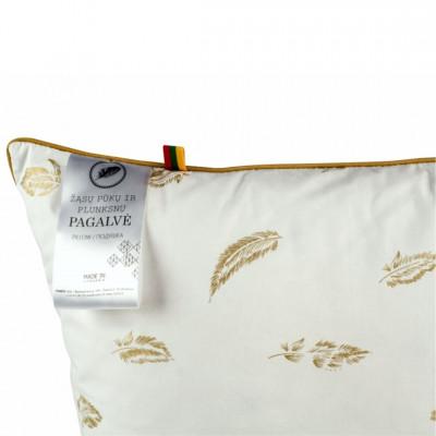Žąsų pūkų ir plunksnų pagalvė