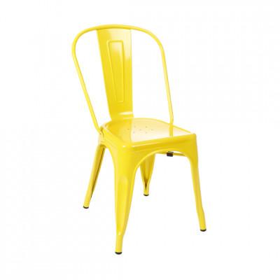 Kėdė Amelia geltona