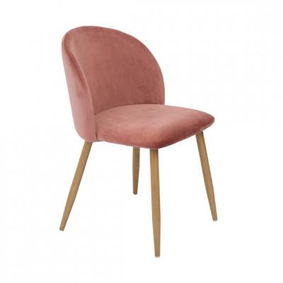 Kėdė Flora Rausva