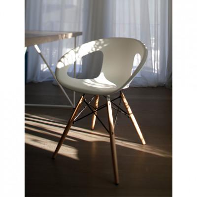 Kėdė Luno Balta