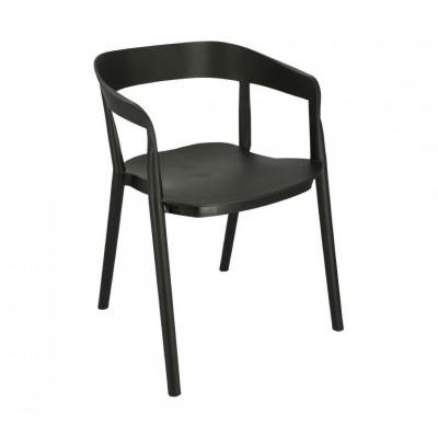 Kėdė Bow Juoda