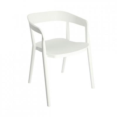 Kėdė Bow Balta