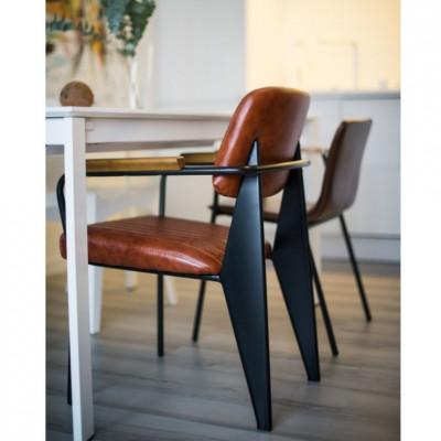 Kėdė Nut Orange Ruda