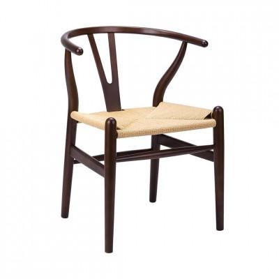 Kėdė Wishbone Ruda
