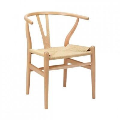 Kėdė Wishbone Šviesi