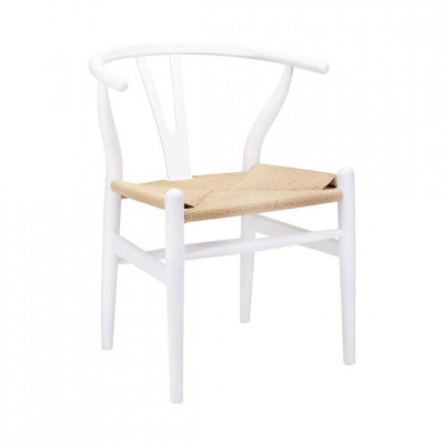 Kėdė Wishbone Balta