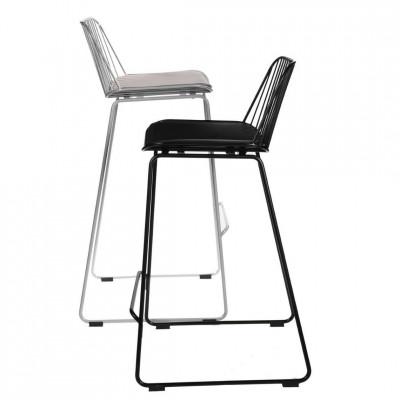 Baro kėdė Dill Pilka