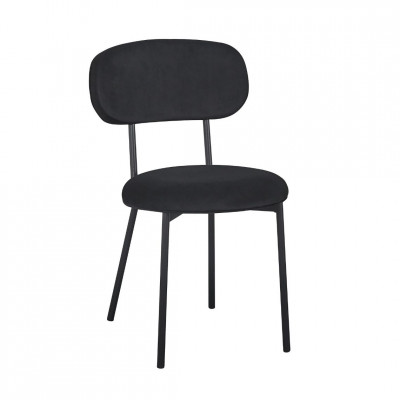 Kėdė Cuba Juoda