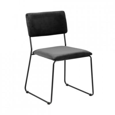 Kėdė CORNELIA Tamsiai pilka