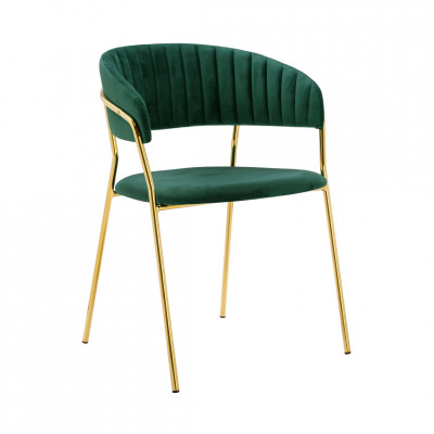 Kėdė MARGO GOLD Žalia