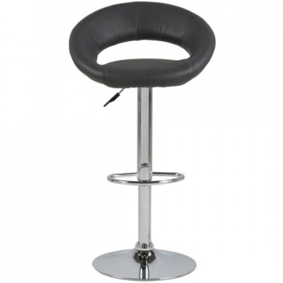 Baro kėdė PLUMP STOOL Juoda