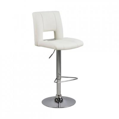 Baro kėdė SYLVIA STOOL Balta
