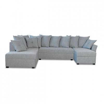 Sofa lova Gloria Large Pilka