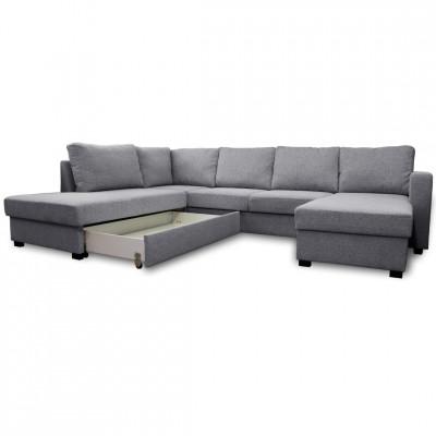 Sofa lova Paris large pilka