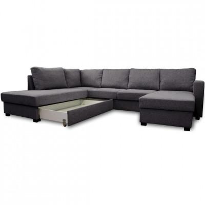 Sofa lova Paris large juoda