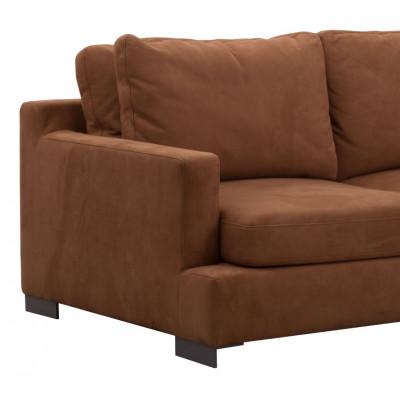 Trivietė sofa Broune