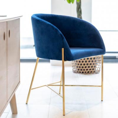 Kėdė NELSON Mėlyna
