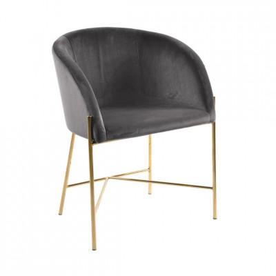 Kėdė NELSON Tamsiai Pilka