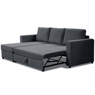 Sofa lova Paris small Pilka