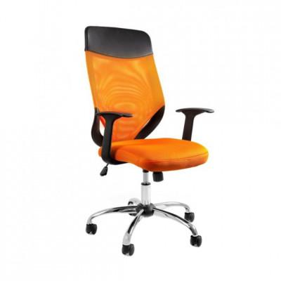 Darbo kėdė MOBI PLUS Oranžinė