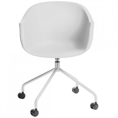 Darbo kėdė ROUNDY Balta