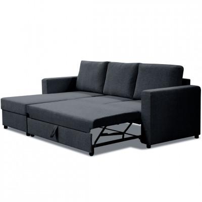 Sofa lova Small Paris Juoda