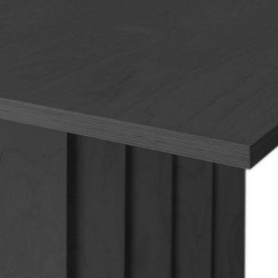 Valgomojo stalas Zigzag Juodas