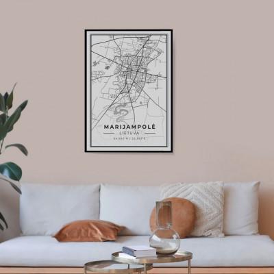 Miesto žemėlapis Marijampolė