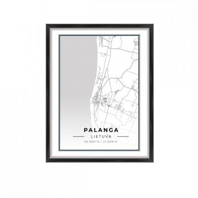 Miesto žemėlapis Palanga