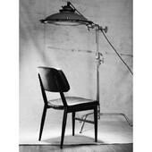 Kėdė BEN - tvirta ir solidi, nuo galvos iki kojų juoda bei pavadinta mūsų pagalbininkų garbei. Pasikvieski ir savo BENĄ prisėsti.  Kėdė apvilkta eko oda, kojelės pagamintos iš metalo.  #nmfhome #kedes #kede